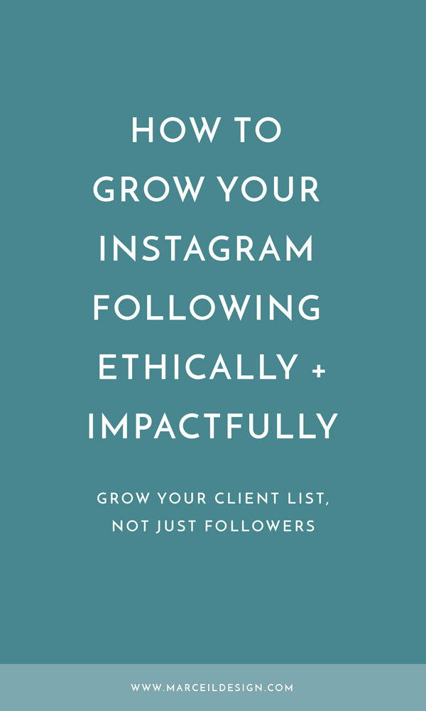 How to Grow Your Instagram Following Ethically & Impactfully